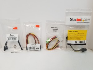SATA Splitter, Molex Splitter, Fan Splitter, 6 Pin -> 8 Pin $6.95