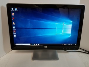 "HP 20"" Widescreen LCD Monitor"